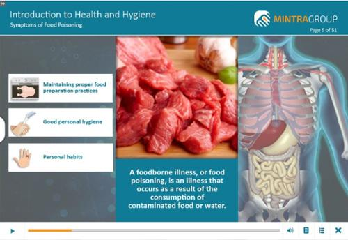 Food Handling - Introduction to Health and Hygiene